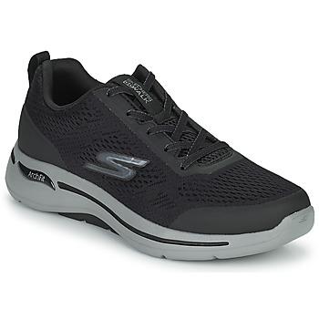 Shoes Men Low top trainers Skechers GO WALK ARCH FIT Black