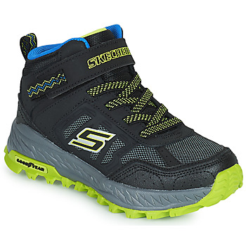 Shoes Boy High top trainers Skechers FUSE TREAD Black / Yellow