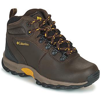 Shoes Children Hiking shoes Columbia YOUTH  NEWTON RIDGE Brown
