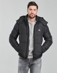 material Men Duffel coats Calvin Klein Jeans ESSENTIALS NON DOWN JACKET Black