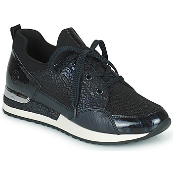 Shoes Women Low top trainers Remonte Dorndorf ANITAS Black / White