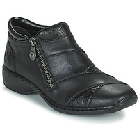 Shoes Women Mid boots Rieker SALOMA Marine