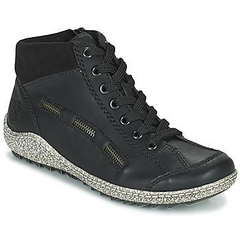 Shoes Women Mid boots Rieker GUERINA Marine