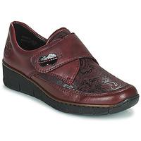 Shoes Women Derby shoes Rieker BOLLE Bordeaux