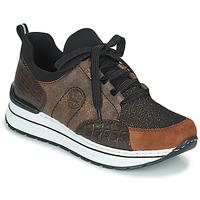 Shoes Women Low top trainers Rieker TEMPORA Brown