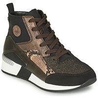 Shoes Women High top trainers Rieker MANKA Black / Brown