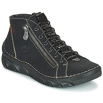 Shoes Women Mid boots Rieker MEMOIRA Black