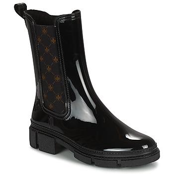 Shoes Women Wellington boots Rieker SHOTTA Black
