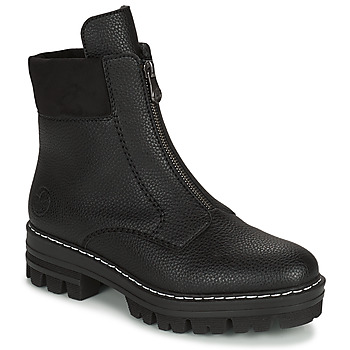 Shoes Women Mid boots Rieker QUAMIN Black