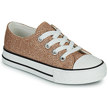 Shoes Girl Low top trainers Citrouille et Compagnie OVANA Gold