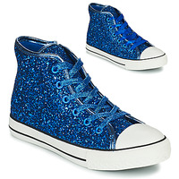 Shoes Girl High top trainers Citrouille et Compagnie OUTIL Blue