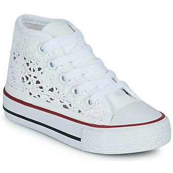 Shoes Girl High top trainers Citrouille et Compagnie OVANA White