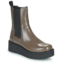 Shoes Women Mid boots Vagabond Shoemakers TARA Brown / Clear