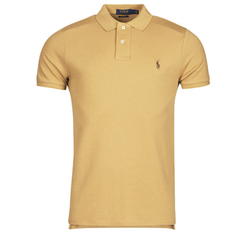 material Men short-sleeved polo shirts Polo Ralph Lauren PETRINA Camel