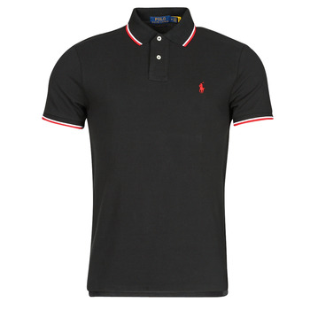 material Men short-sleeved polo shirts Polo Ralph Lauren CALMIRA Black