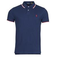 material Men short-sleeved polo shirts Polo Ralph Lauren CALMIRA Blue