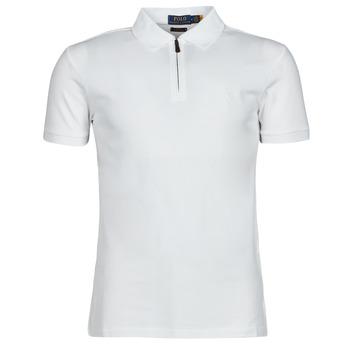 material Men short-sleeved polo shirts Polo Ralph Lauren BATTYNA White