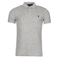 material Men short-sleeved polo shirts Polo Ralph Lauren DOLINAR Grey