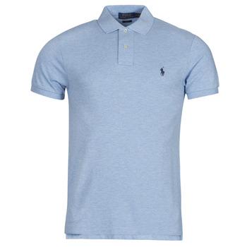 material Men short-sleeved polo shirts Polo Ralph Lauren DOLINAR Blue