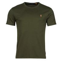 material Men short-sleeved t-shirts Polo Ralph Lauren TEKAMO Kaki