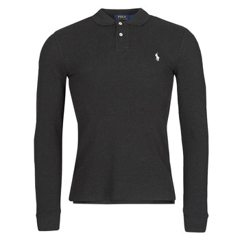material Men long-sleeved polo shirts Polo Ralph Lauren MOLINA Black