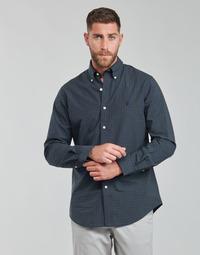 material Men long-sleeved shirts Polo Ralph Lauren RENIMA Green / Blue