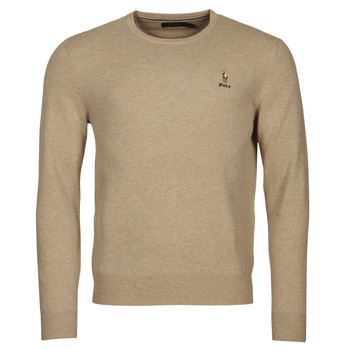 material Men jumpers Polo Ralph Lauren SOLIMMA Camel