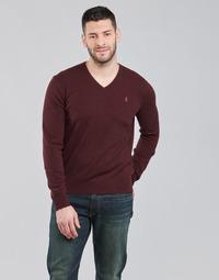 material Men jumpers Polo Ralph Lauren SOLIMMA Bordeaux