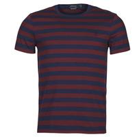 material Men short-sleeved t-shirts Polo Ralph Lauren POLINE Marine / Bordeaux