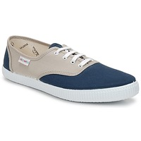 Shoes Low top trainers Victoria INGLESA BICOLOR Beige / Petrol