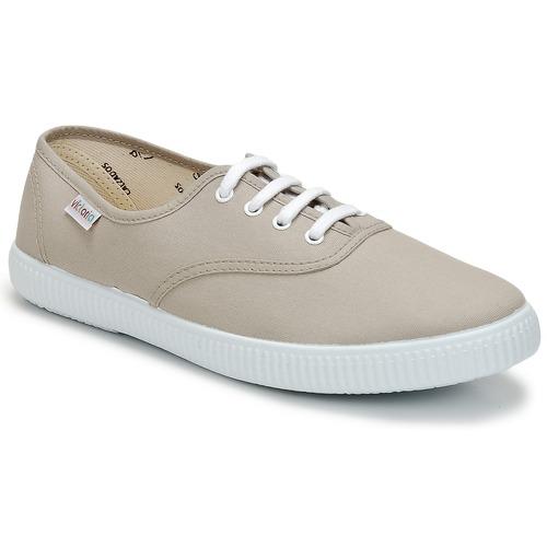 Shoes Low top trainers Victoria INGLESA LONA Beige
