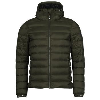 material Men Duffel coats Superdry CLASSIC FUJI PUFFER JACKET Olive