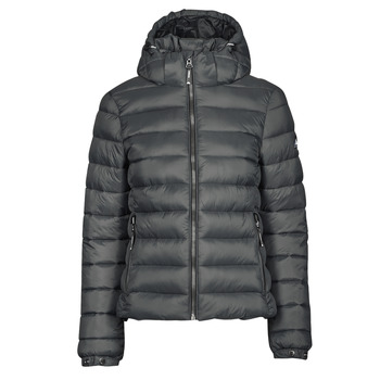 material Women Duffel coats Superdry CLASSIC FUJI PUFFER JACKET Grey