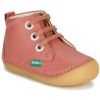Shoes Girl Mid boots Kickers SONIZA Pink