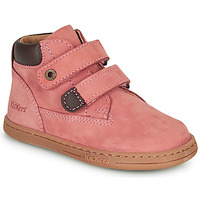Shoes Girl Mid boots Kickers TACKEASY Pink