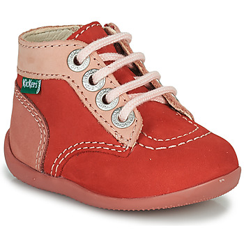 Shoes Girl Mid boots Kickers BONZIP-2 Pink