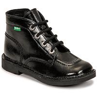 Shoes Girl Mid boots Kickers KICK COLZ Black