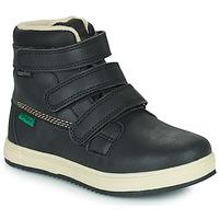 Shoes Children Mid boots Kickers YEPOKRO WPF Black