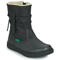 Shoes Girl Mid boots Kickers RUMBY Black