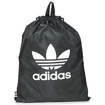 Bags Rucksacks adidas Originals GYMSACK TREFOIL Black