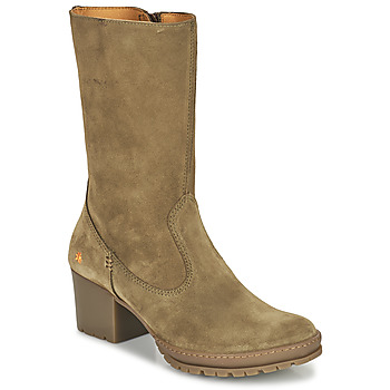 Shoes Women Boots Art CAMDEN Brown