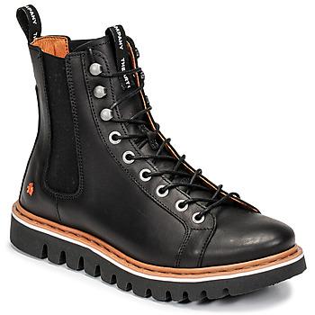 Shoes Mid boots Art TORONTO Black