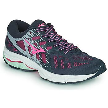 Shoes Women Running shoes Mizuno WAVE ULTIMA 11 Blue / Pink