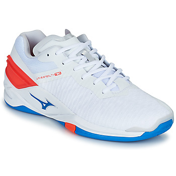 Shoes Men Indoor sports trainers Mizuno STEALTH NEO White / Blue