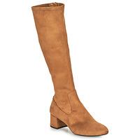 Shoes Women Boots Unisa LARTI Camel