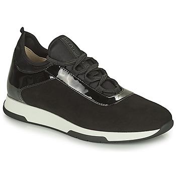 Shoes Women Low top trainers Unisa FONTS Black