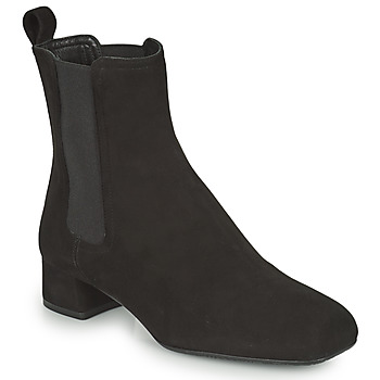 Shoes Women Ankle boots Unisa GUSO Black