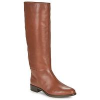 Shoes Women Boots Unisa BLEND Camel