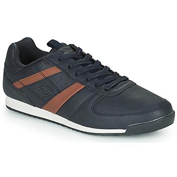 Shoes Men Low top trainers Umbro LINSI Black / Brown
