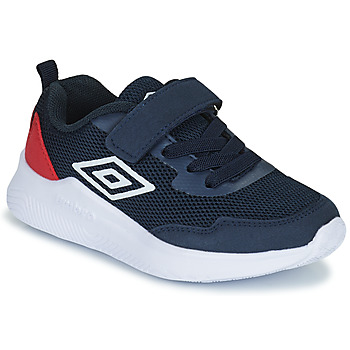 Shoes Children Low top trainers Umbro LAGO VLC Blue / Red